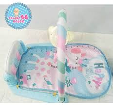 Baby Play Mat Light Up Portable Baby Toddler Play Gym Play Mat With Music Lights