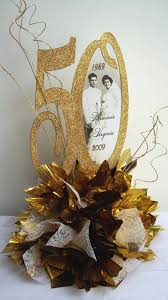 designs by ginny 50th anniversary centerpiece