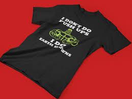Funny Workout Shirt Insanity Gym Saying Crossfit Push Ups Quote Joke Gym Rat Gift Fitness T Shirt