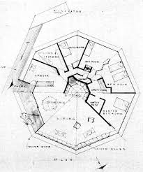 floor plan of the chemosphere house in los angeles taken from p70 Modern House Plans California floor plan of the chemosphere house in los angeles taken from p70 popular science, april california modern ranch house plans
