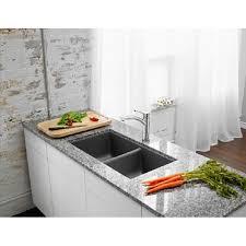 HORIZON Undermount Sink Cinder Blanco Cinder Sink I69