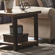 end tables for living rooms. scott living rustic brown pine rectangular end table tables for rooms