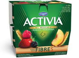 activia red fruits cereal peach cereal