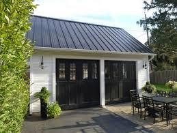 black garage doorhomes with black garage doors  Garage Ideas  Garage remodel