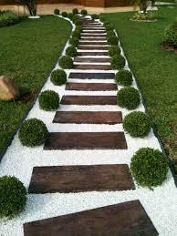 fabulous backyard wood walkway ideas garden path and walkway ideas wood ladder stone woodsrhcom love how