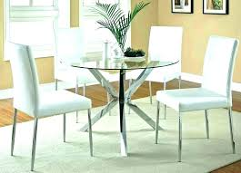 round glass dining table set for 4 top chairs varazze oval