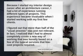 Interior Design Schools Gorgeous How To Run An Interior Design Project Architectural Interior