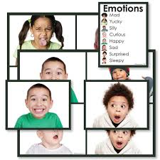 Emotions Cards With Chart Montessori 123 4 95