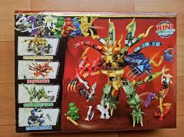 Báo giá Lego Ninja master Rồng và robot 68093 chỉ 75.000₫