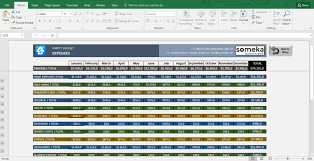 Budget Excel Template Mac Family Budget Excel Template For Household Free Worksh Golagoon