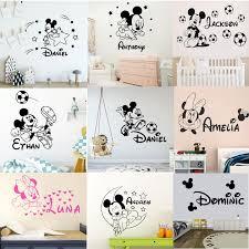 home décor children vinyl decal mickey