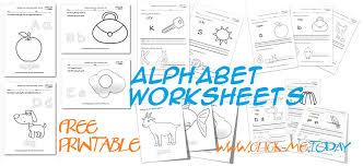 printable alphabet worksheets for ESL, Kindergarten