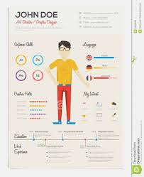 95 Infographic Resume Template Free Large Size Of Infographic