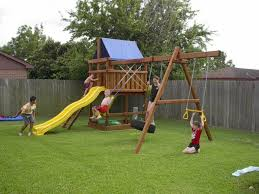 diy swing set