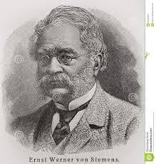 Werner von Siemens redaktionelles stockfoto. Illustration von redaktionell  - 20442618