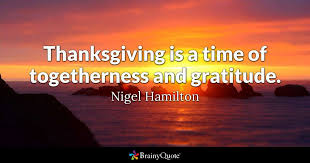 Thanksgiving Quotes Inspirational 18 Best Thanksgiving Quotes BrainyQuote