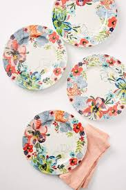 Floral Plate Design Thanksgiving Dinnerware Youll Love Nonagon Style