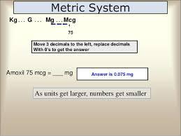 Mg Into Microgram Gram Into Microgram