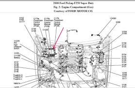 f where is the pcm in a ford f l diesel and