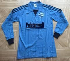 Ich versuche also folgende trikots in meine sammlung zu bekommen: Vfl Bochum Home Football Shirt 1982 1984 Sponsored By Posterwelt
