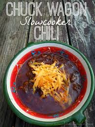 slowcooker chuck wagon chili hearty and rich perfect for cold days and football slowcooker chili soup