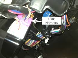 how to dedicated cargo light switch chevy and gmc duramax locate cargo lamp wire looking underneath your dash should see a pink harness