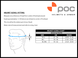 Poc Goggles Size Chart Poc Ski Helmet Auric Blunck Edition 10494 Snow Helmets