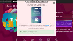 real free itunes gift card codes