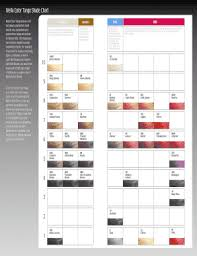 Wella Color Tango Chart Fill Online Printable Fillable