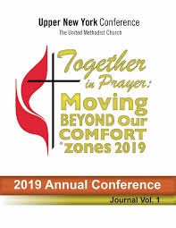 2019 Upper New York Conference Journal Volume I By Upper New York