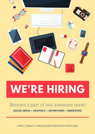 Template For Advertising Customize 86 Job Vacancy Announcement Templates Online Canva