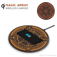 10w Magic Array Lighting Wireless Charger 2019 Magic Array Lighting 10w Qi Wireless Charger Magic Circle Mobile Phone Charging Pad For Iphone Samsung Huawei Retail From First_technology