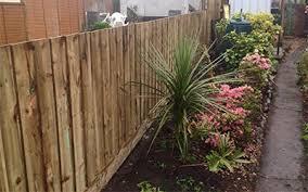 garden fencing. Fencing Plymouth Garden