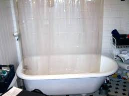 clawfoot shower curtain shower curtains for tub shower curtain tub solution gorgeous bath shower curtain rail clawfoot shower curtain