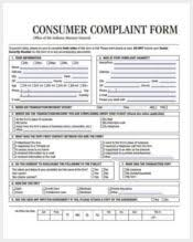 142+ Complaint Forms – Free Sample, Example, Format Download ...