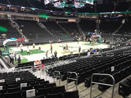Fiserv Forum Seating Chart View Fiserv Forum View From Lower Level 119 Vivid Seats