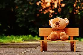 bear bench child children toys color cute sit soft toy summer teddy teddy bear toy tree wood wooden wooden bench 4k wallpaper and background