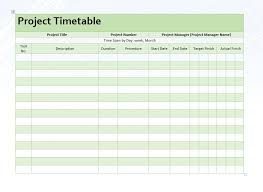 Microsoft Word Schedule Templates Project Timetable Word Template Microsoft Word Templates