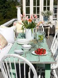 shabby chic outdoor furniture. Pinterest Patio Decorating Ideas | Shabby Chic Cottage Design, Pictures, Remodel, Outdoor Furniture I