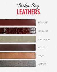 box calf is the oldest type of leather available initially used for the kelly bags the smoothness of this leather means scratches are easy to see