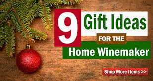 9 gift ideas for the home winemaker