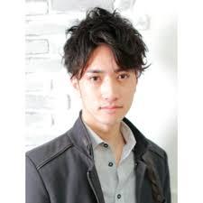 メンズパーマモテ髪ショート Chocolat Abenoショコラアベノのヘア