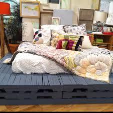 Cuuuuute Paint Wood Pallets For Cute Platform Bed  N