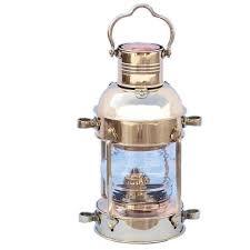 Small Picture 15 Anchor Oil Lantern Solid Brass 19th Century Replica 250