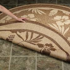 awesome seagrass rug for your flooring decor idea round brown with fl design seagrass rug