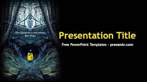 Free Dark Powerpoint Template Prezentr Ppt Templates