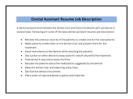 Dental Assistant Resume Sample Classy Dental Assistant Resume Sample Pdf