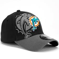 Fashion Designs T Shirt Miami The Fitted Cheap personalized Era New Hat Dolphins Flex Black Hats Classic 39thirty Most -