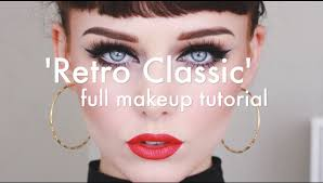 retro clic makeup tutorial you