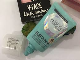 b b white maybelline clear smooth